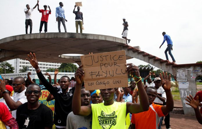 The DRC's Constitutional Court on Tuesday began hearing an appeal brought by Fayulu challenging the election results.