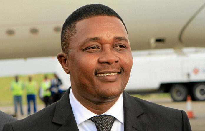 Speaking out: Minister Walter Mzembi.