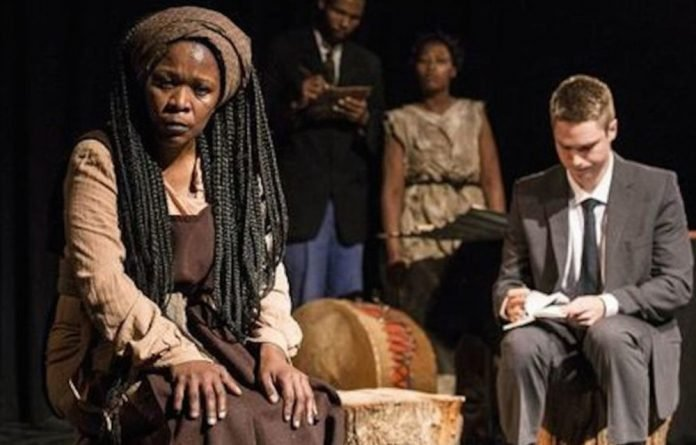 Faniswa Yisa plays Tseliso in Nwabisa Plaatjie's adaptation of the 1983 play the Native Who Caused all the Trouble