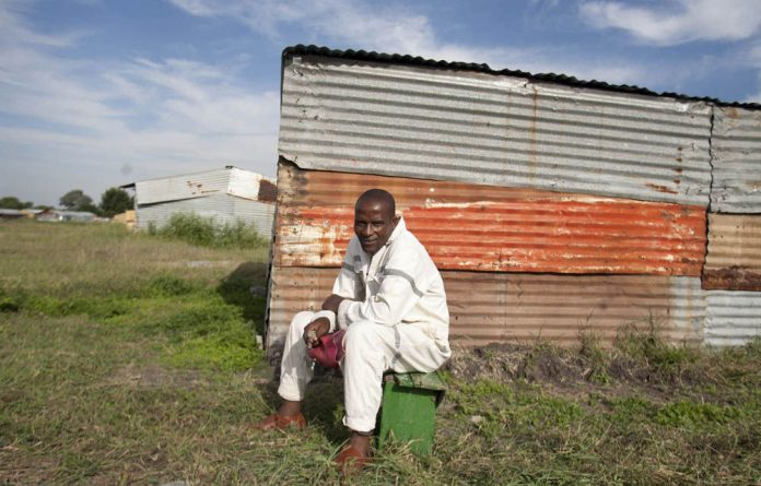 Maobi Ntombeni asked relatives to sell goats so that he could survive.