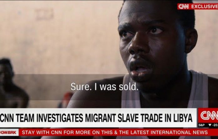 CNN footage revealed that slavery still exists in Libya with slaves sold for a mere $400.