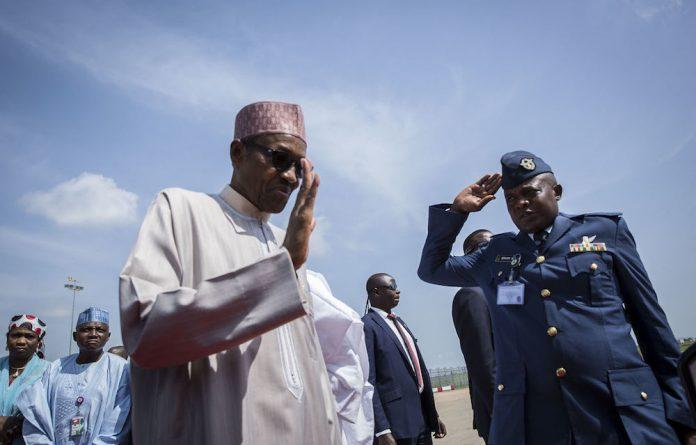 Nigeria's President Muhammadu Buhari departs for London at Nnamdi Azikwke airport of Abuja.