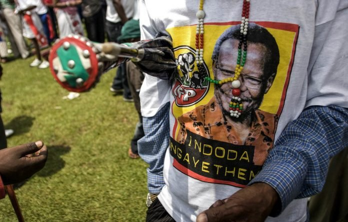 Goodbye: Mangosuthu Buthelezi's IFP caused chaos in the 1980s and 1990s
