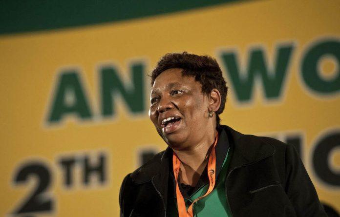 Focus shift: Minister of Education Angie Motshekga says SA needs more artisans.