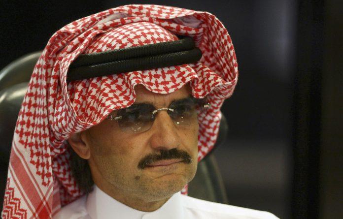 Billionaire tycoon Prince Al-Waleed bin Talal