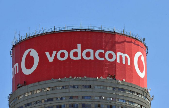 Vodacom overtook rival MTN earlier this month as the continent's biggest phone company by market value.