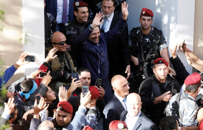 Prime Minister Saad Hariri in Beirut on Wednesday.