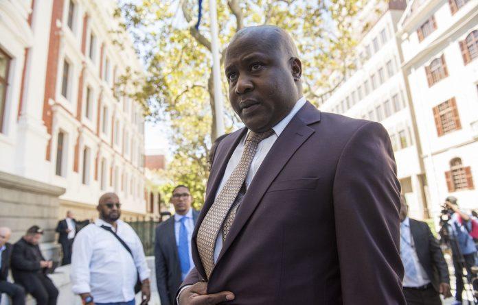 Former state security minister Bongani Bongo.