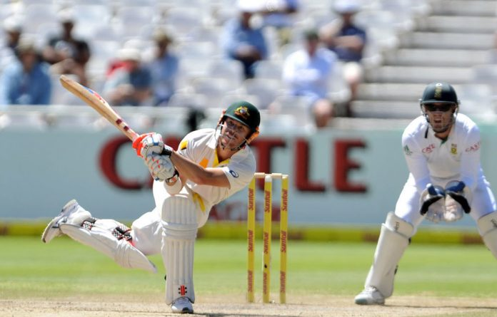 David Warner clubbed 40 from just 16 deliveries.