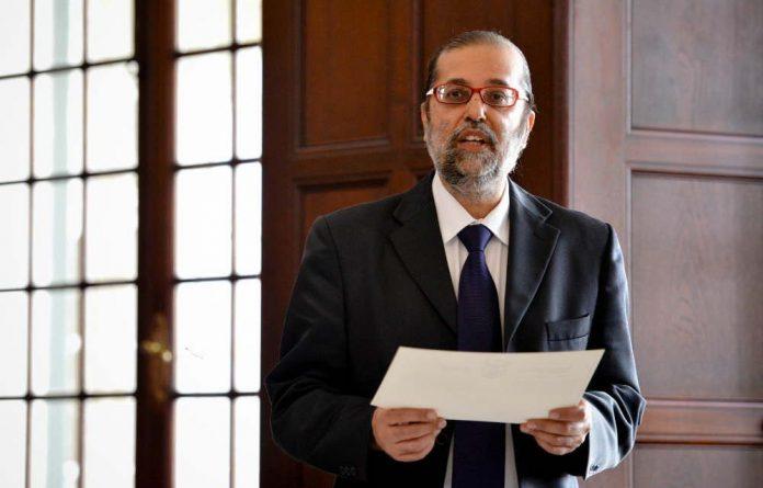Communications Minister Yunus Carrim.