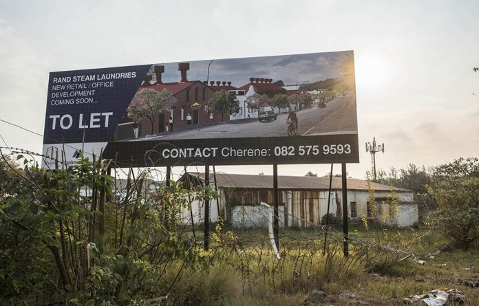 AmaWasha'd out: Little remains of the Rand Steam Laundries