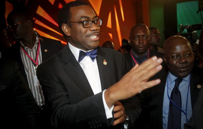 Nigerian Akinwumi Adesina won an election on Thursday to become the new president of the African Development Bank.
