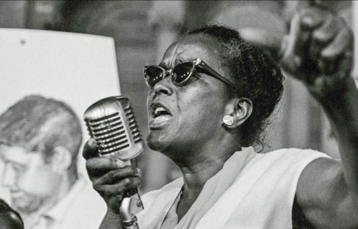 The gulf and the difficulties we undoubtedly confront as a national and global community make what we are doing more important than ever. Pictured is Ella Baker