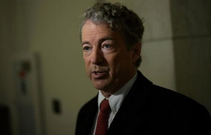 Rand Paul made a move to block the budget bill on Thursday night over objections to what it will do to the US deficit.
