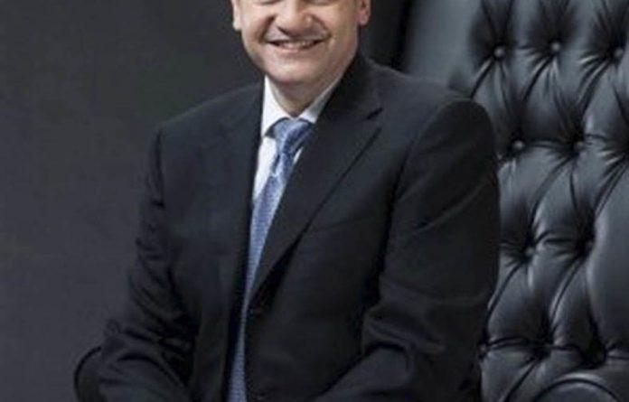 Corporate tussle: Eric Wood