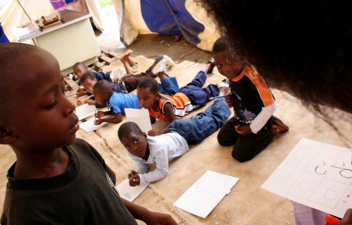 Many early childhood development centres lack resources or overemphasise formal learning