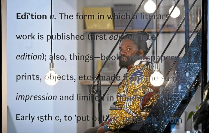 Seeking difference: Chimurenga founder Ntone Edjabe chose Cape Town for its distance from Lagos