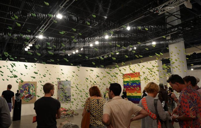 Fairest: Sadie Coles HQ booth at Miami's Art Basel