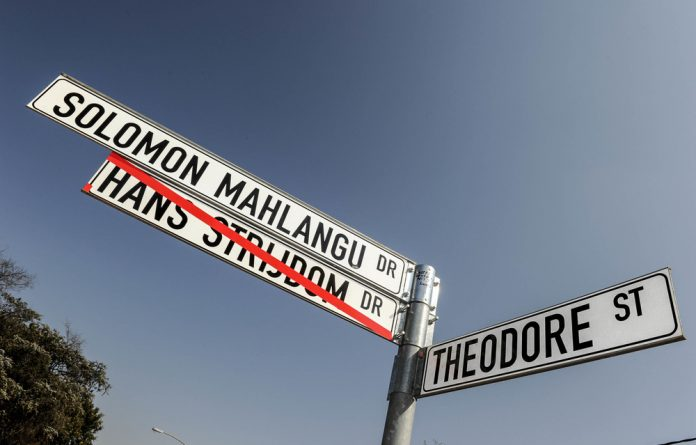 Two readers take issue with an article on the changing of South African place names.