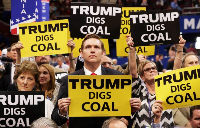 Can you dig it? When climate change naysayers are as powerful as the president-elect of the United States