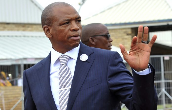 """Supra Mahumapelo has announced that he will be taking """"early retirement"""" and has asked the ANC to look into allegations of corruption in his province."""