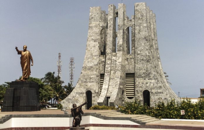 All for one or one for all? A statue of Ghana's first president Kwame Nkrumah stands in his memorial park in Accra