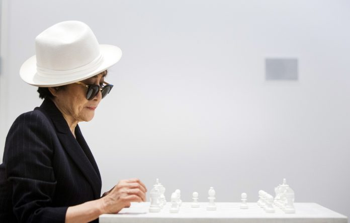 Artist Yoko Ono's show runs until September in New York.