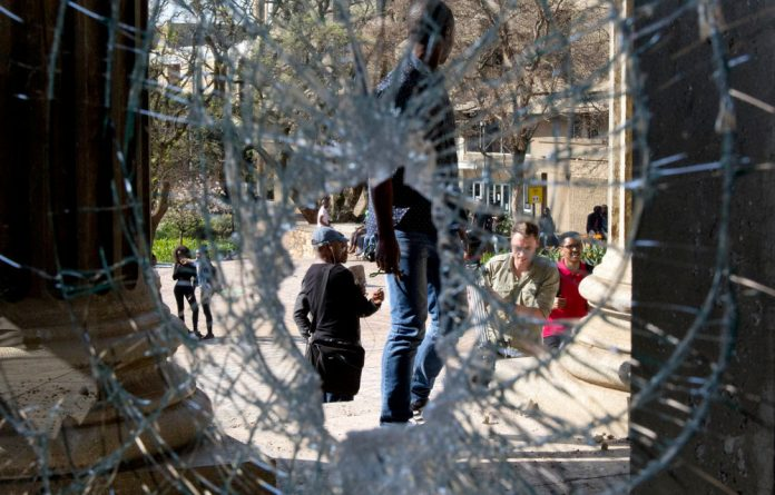 Wits University has been no stranger to clashes between students and police in recent weeks.