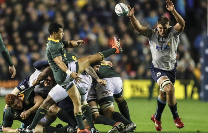 South Africa's Embrose Papier will take the field against Wales after a plucky performance in Edinburgh.