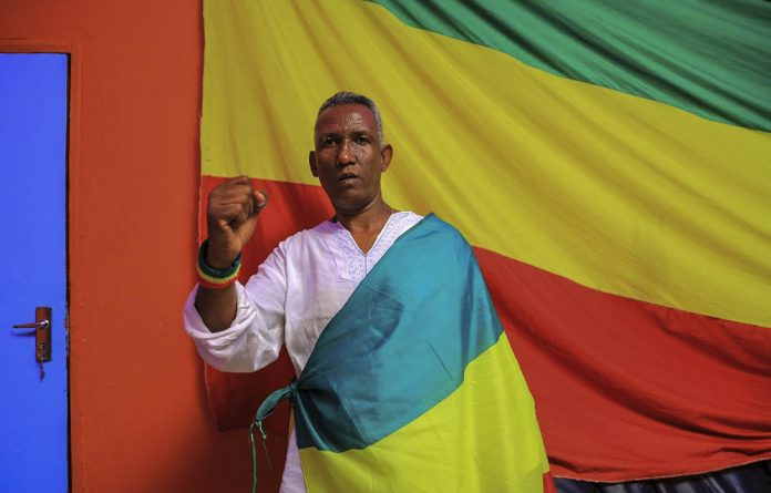 The target: Gezahegn Gebremeskel was a respected member of the Ethiopian diaspora community.