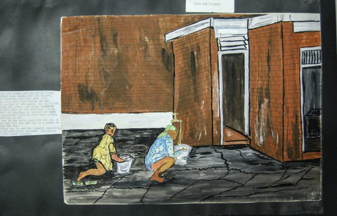 Painting through struggle: Fatima Meer's work represents the harsh realities of prison and how she