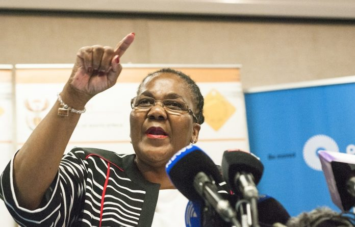 Scathing: Dipuo Peters has accused the ousted Prasa board of 'improper interference' in the agency. Photo: Thapelo Maphakela/Gallo Images