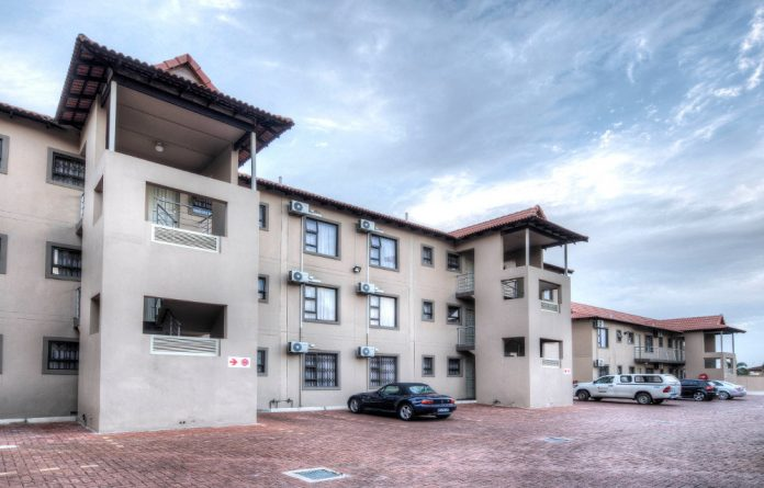 Student housing at the University of Zululand.