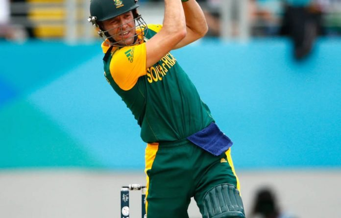 Time bomb: The ICB made its ruling known only after AB de Villiers had already played two T20 games.