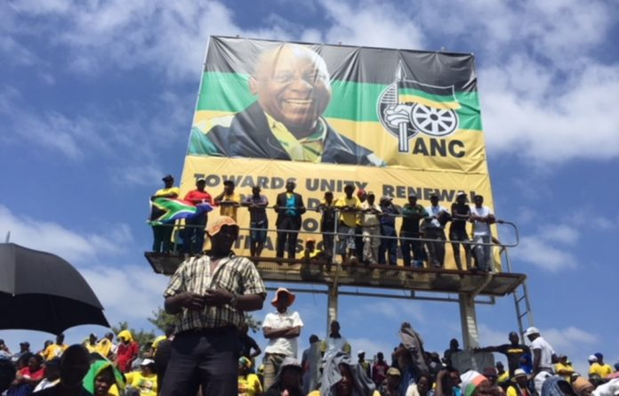 ANC president Cyril Ramaphosa received a rapturous welcome on Saturday morning as he stepped on stage with the party's new top leadership and national executive committee.