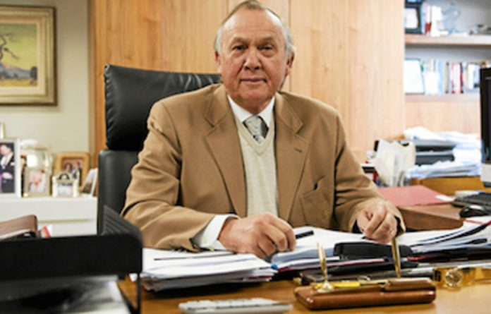 Chief executive Markus Jooste and chairman Christo Wiese