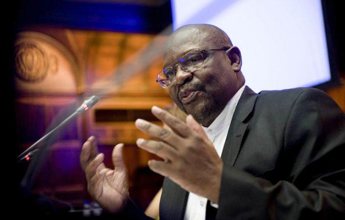 Hot potato: Justice committee head Mathole Motshekga is under pressure to finalise a law on statutory rape.