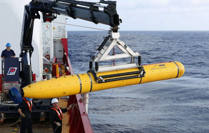 The Bluefin21 has not traced Flight 370's wreckage