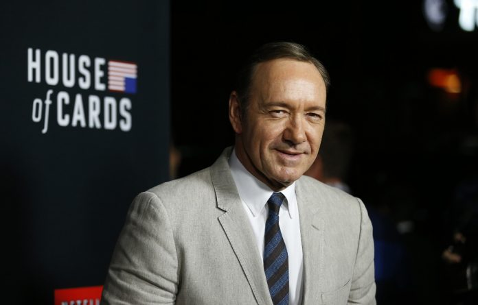 Hollywood actor Kevin Spacey stars in the series House of Cards.