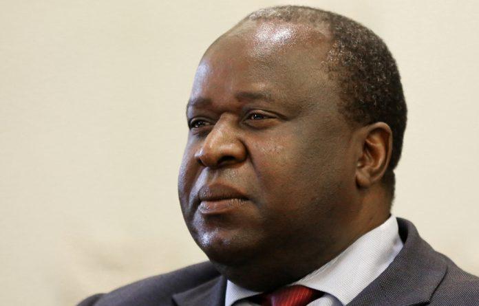 Minister Tito Mboweni.