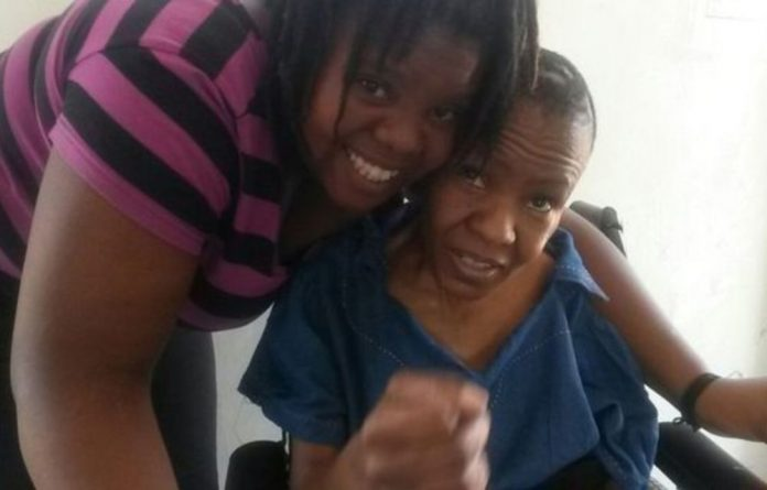 Virginia Machpelah and her daughter Shaniece. Virginia died after she was moved from Life Esidimeni to NGO Precious Angels. Shaniece died on the first day of the arbitration hearings.
