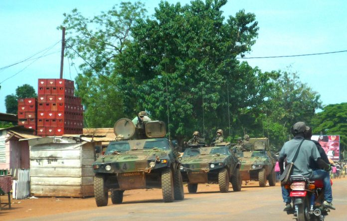 Military muscle: Operation Sangaris has now ended in the Central African Republic