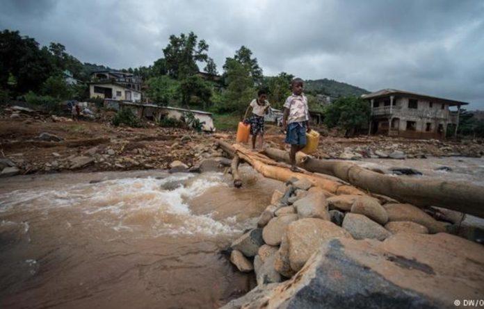 A mudslide devastated the capital