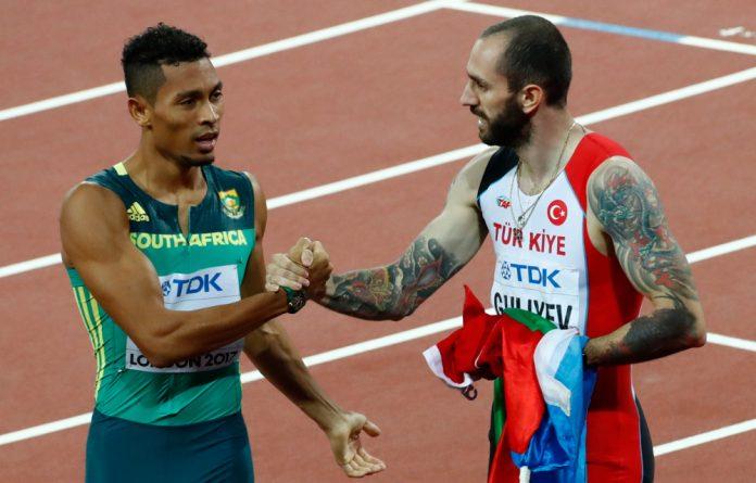 Ramil Guliyev and Wayde Van Niekerk.