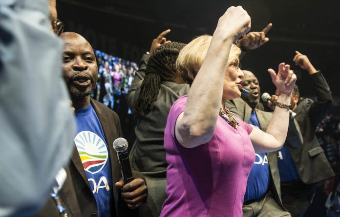 Fighting talk: Helen Zille's spokesperson says she has taken a 'whole of society' approach to women's liberation.