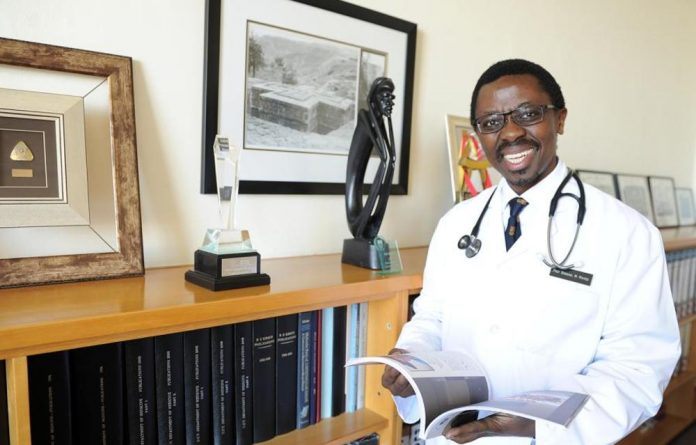 'The passing of Professor Bongani Mayosi was a tragic incident to the entire university community and South Africa as a whole.'