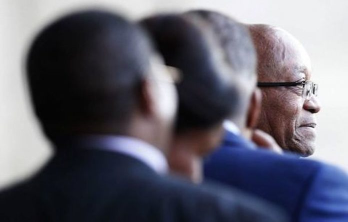 Undermindset: President Jacob Zuma shares his party's paranoia about agents provocateurs being responsible for local discontent