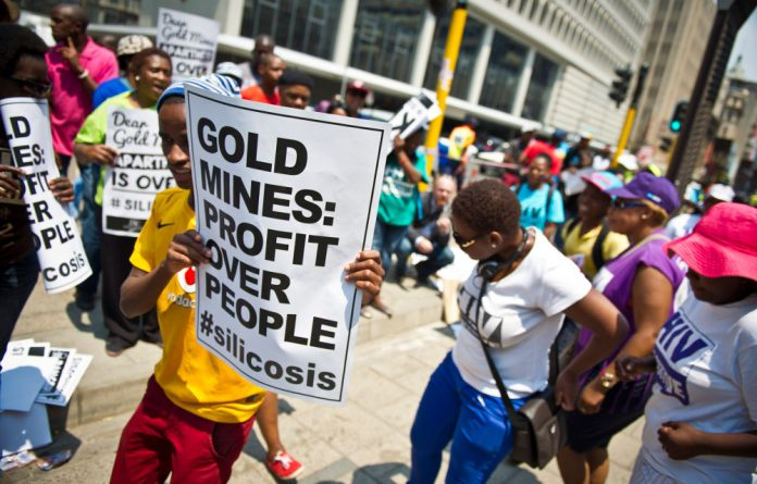 Courts ruled for compensation for gold miners affected by silicosis