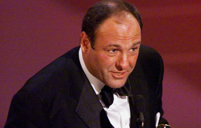 A file image of James Gandolfini at the Governor's Ball post-Emmy Awards party in Los Angeles in 2000.