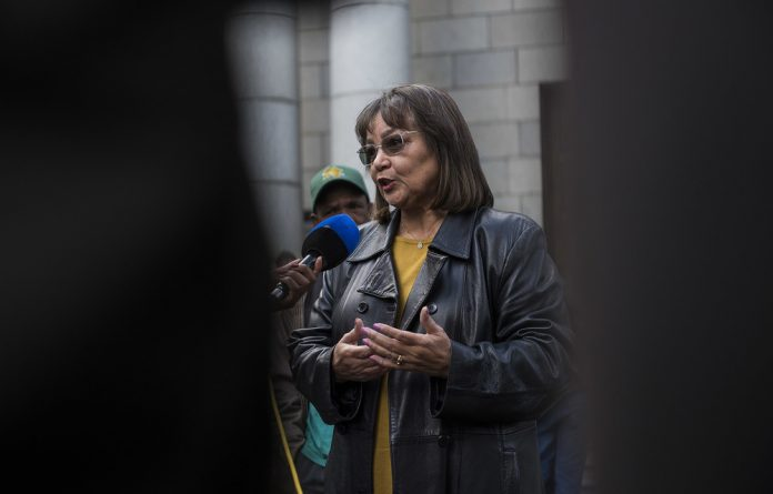 De Lille earlier this year reached an understanding with the party that she would vacate her office at the end of October.